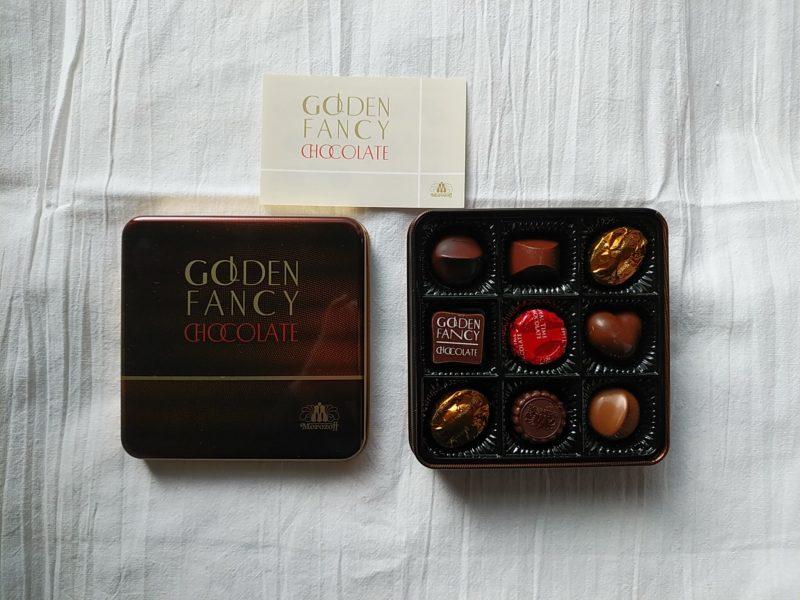 マルカキカイの株主優待品であるモロゾフのチョコレート