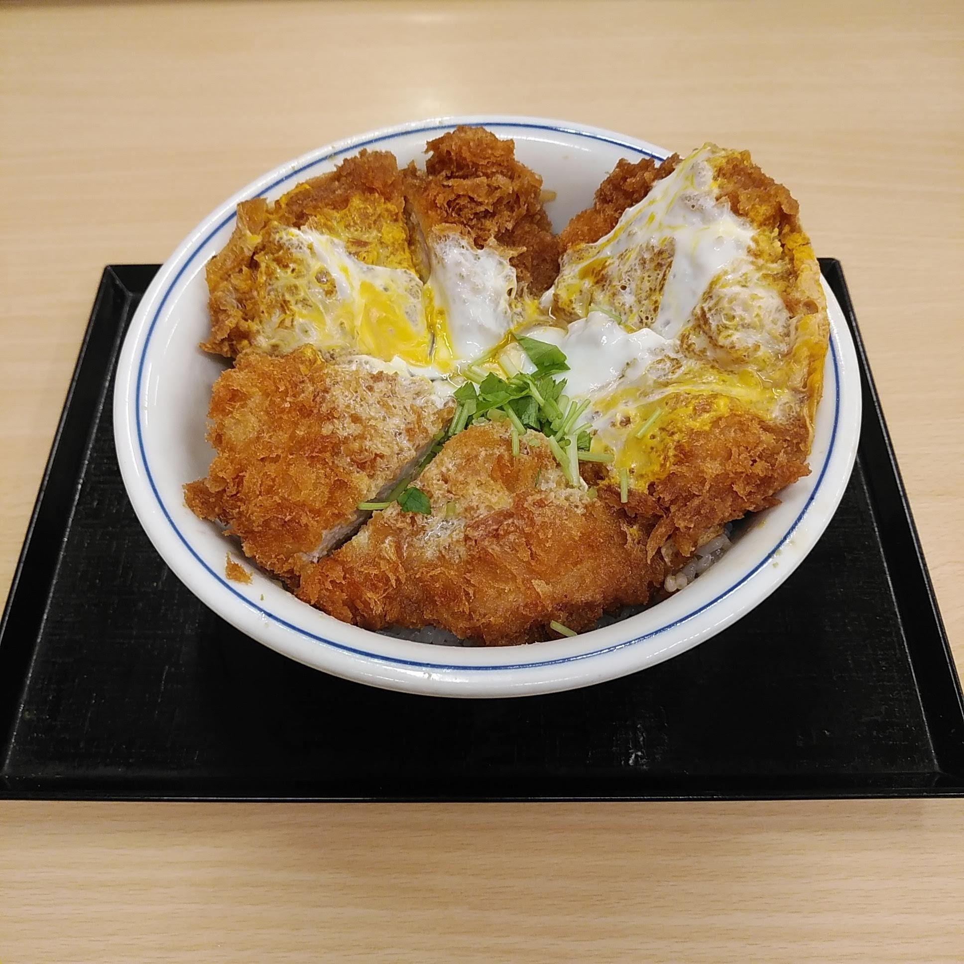 ヒレカツ丼